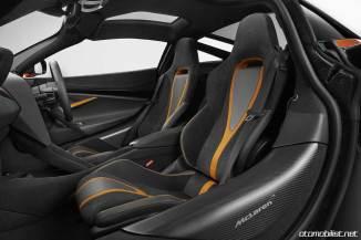 2018 McLaren 720S koltuklar