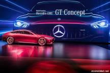 Mercedes-AMG GT Concept Cenevre Fuar sahne