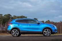 2018 Nissan Qashqai Blue Static