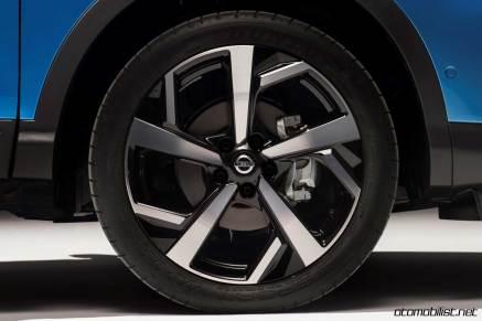 2018 Nissan Qashqai lastik jant tekerlek