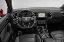 2018 Seat Ateca FR yolcu kabini vites direksiyon