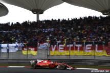 2017 Formula 1 Chinese Grand Prix Sebastian Vettel Ferrari flama