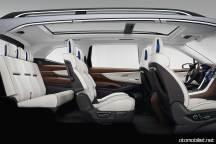 2018 Subaru Ascent SUV Concept kabiniçi