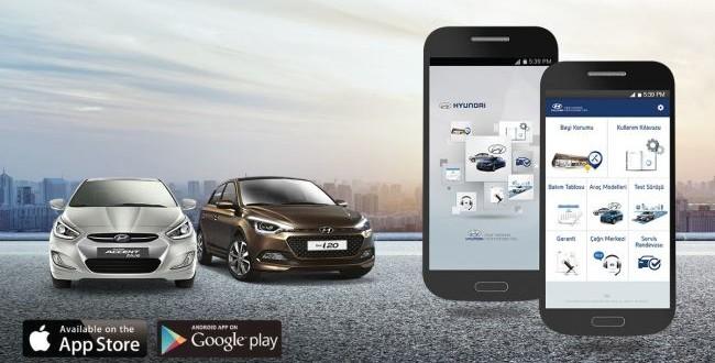 Hyundai 'den Mobil Servis Uygulaması
