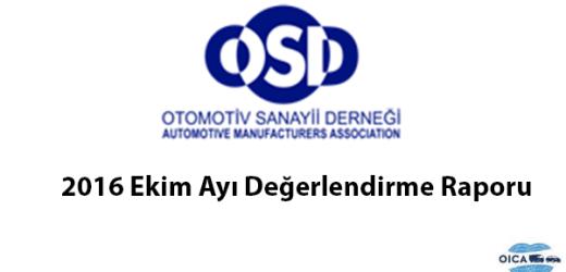 OSD Ekim Ayı Değerlendirme Raporu