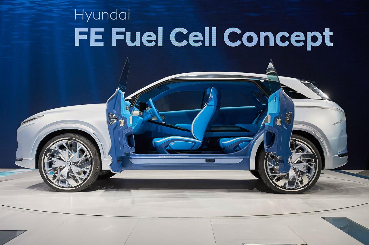 Hyundai'den Yepyeni Bir Fuel Cell: FE Concept
