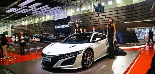 Honda, Yeni Modellerinin Lansmanlarıyla  2017 İstanbul Autoshow'un İlgi Odağı Oldu