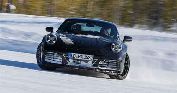 Yeni Porsche 911 için zorlu test programı başladı