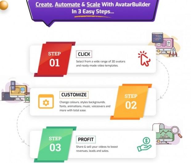AvatarBuilder 3D Video Animation App Software by Paul Ponna 7