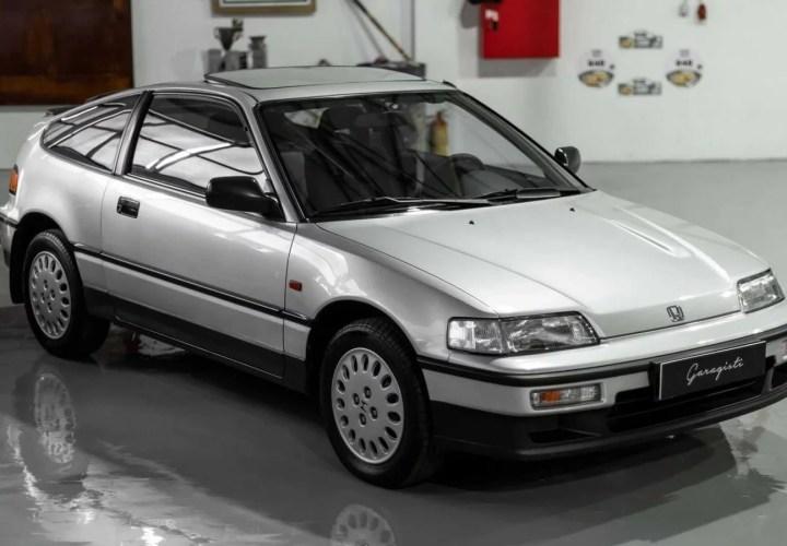 Bu araç, Honda CR-X'lerin dünyadaki en temiz örneği olabilir!