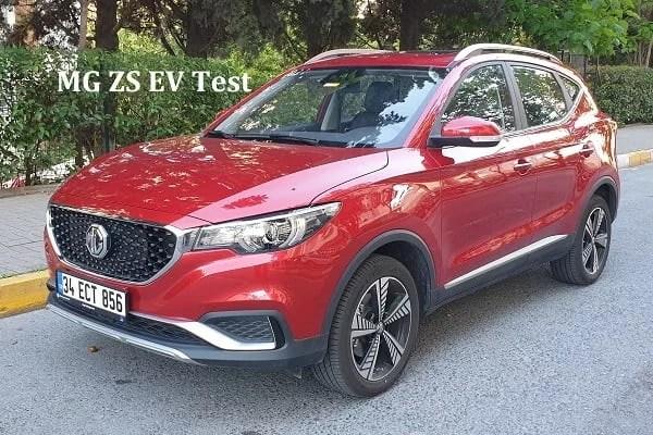 MG ZS EV Test. elektrikli SUV 2021. 2021 MG ZS EV.