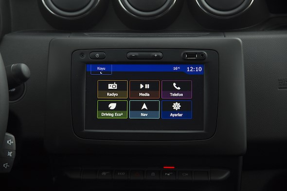 Dacia Duster 2018 Test Sürüşü