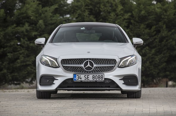 Mercedes E Serisi Coupe 2017 Test Sürüşü