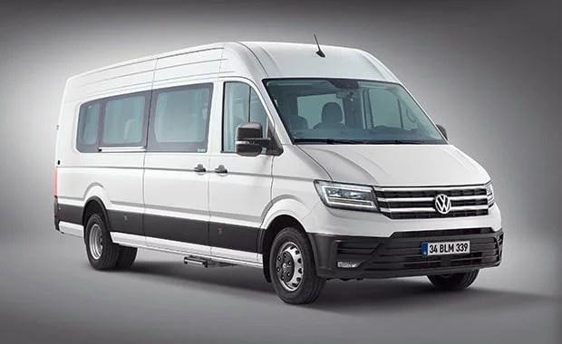 VW Crafter 2019 Okul ve Servis Türkiye'de