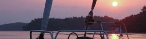 Sonnenuntergang in Nidri