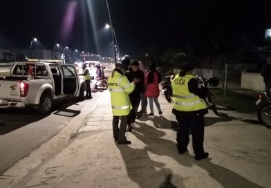 Operativos de control vehicular: incautaciones y multas varias