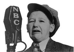 Child star of Old Time Radio, Walter Tetley