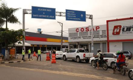 Coronavírus: MP recomenda suspensão de barreiras sanitárias na entrada de Santo Antônio de Jesus