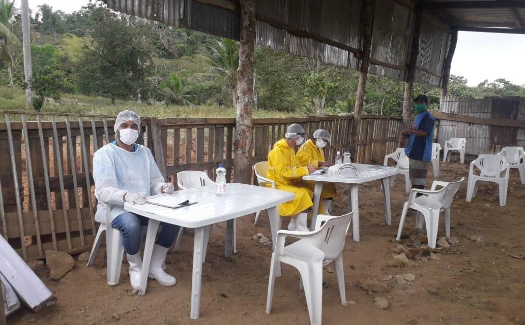 Itabuna: moradores do lixão são submetidos a testes do tipo PCR para detecção da Covid-19