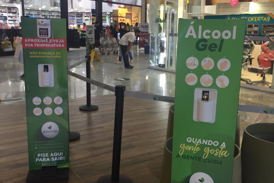 Com ampliação do Toque de Recolher, Shopping Jequitibá tem novo horário de funcionamento