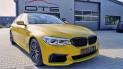 BMW m5 Gelb Foliert_3