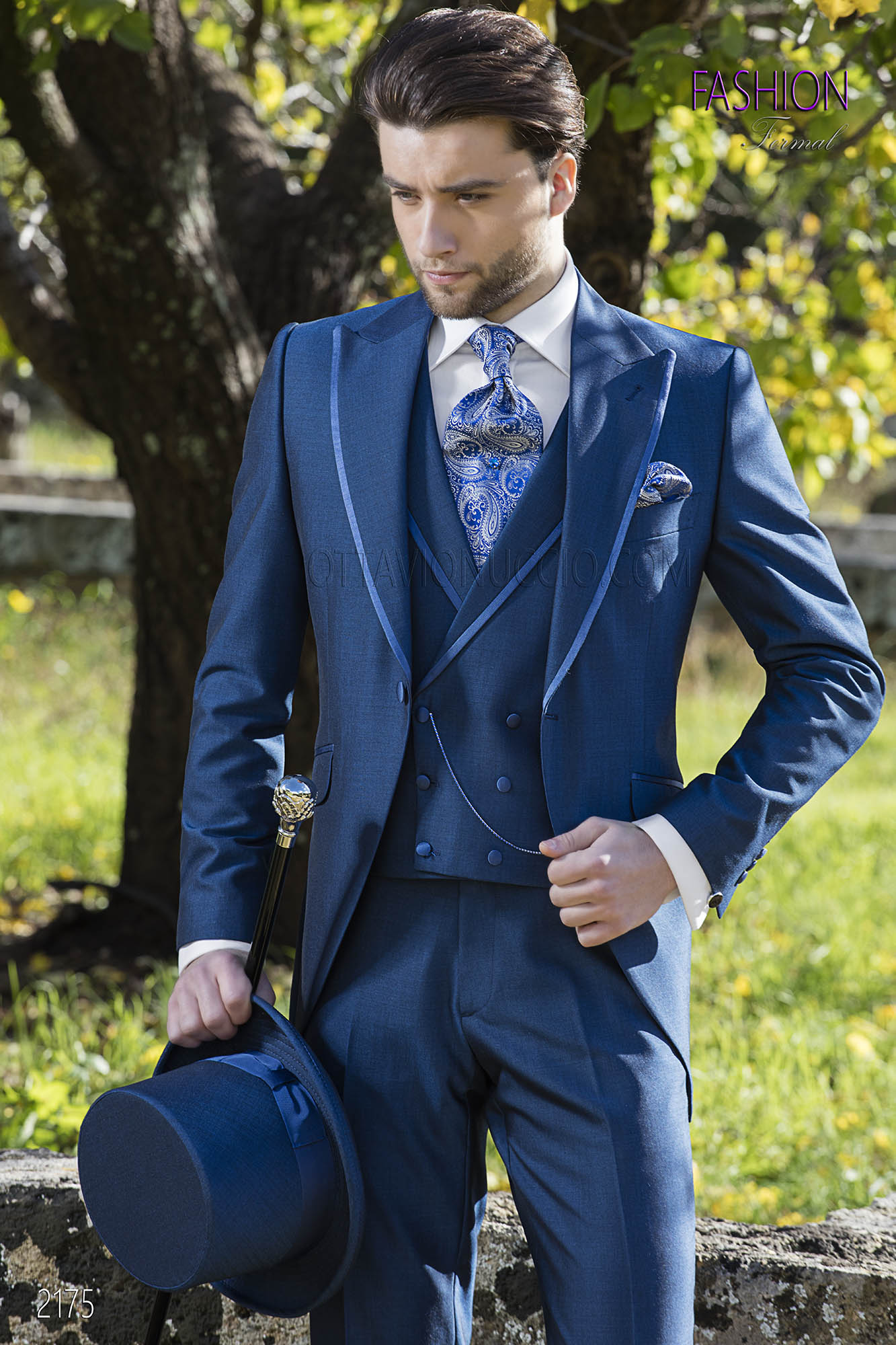 Blue Wedding Suits For Groom