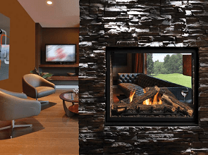 Continental See Through Direct Vent Gas Fireplace Sales & Installation Prices Ottawa