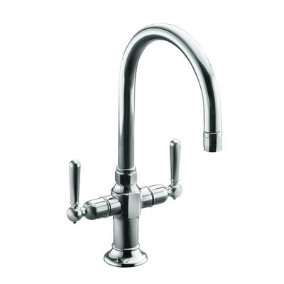 Kohler Hirise Stainless Two Handle Bar Sink Faucet In