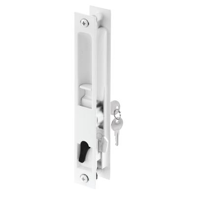 Prime Line Products White Patio Door Flush Lock Home
