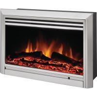 Muskoka Muskoka Electric Fireplace Insert, Stainless Steel ...