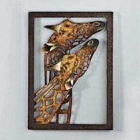 'Giraffe' Metal Wall Art - Sears Canada - Ottawa