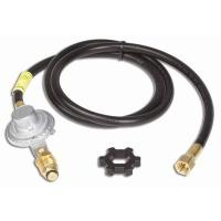 Base Camp Propane Hose/Regulator Assembly for Angle Iron