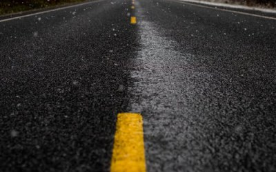 Tip of the Week #28: Road Paint is Surprisingly Slippery