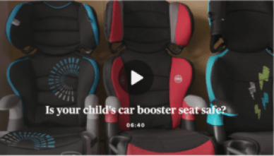 Car Booster Seat Safety Concerns