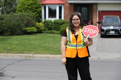 Ottawa Crossing Guard Claire
