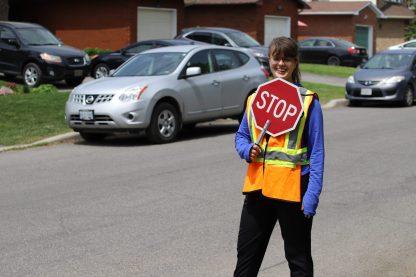 Ottawa Crossing Guard Maddy