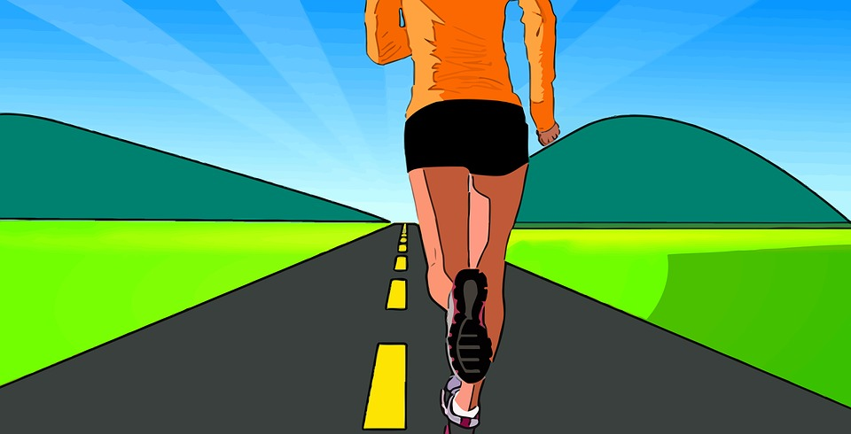 running illustration