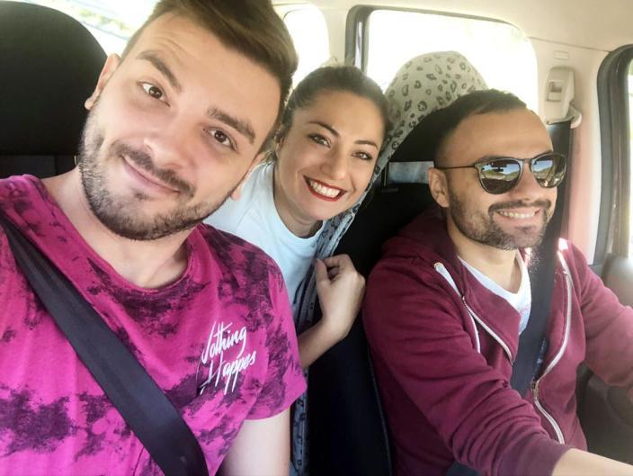 Il trio in viaggio