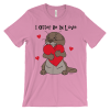 I Otter Be In Love Pink T-shirt