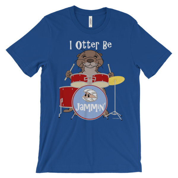 I Otter Be Jammin' Royal T-shirt