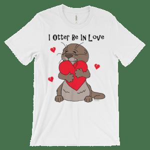 I Otter Be In Love White T-shirt