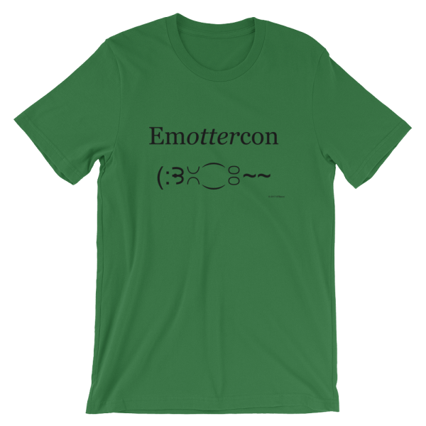 Emottercon Leaf T-shirt