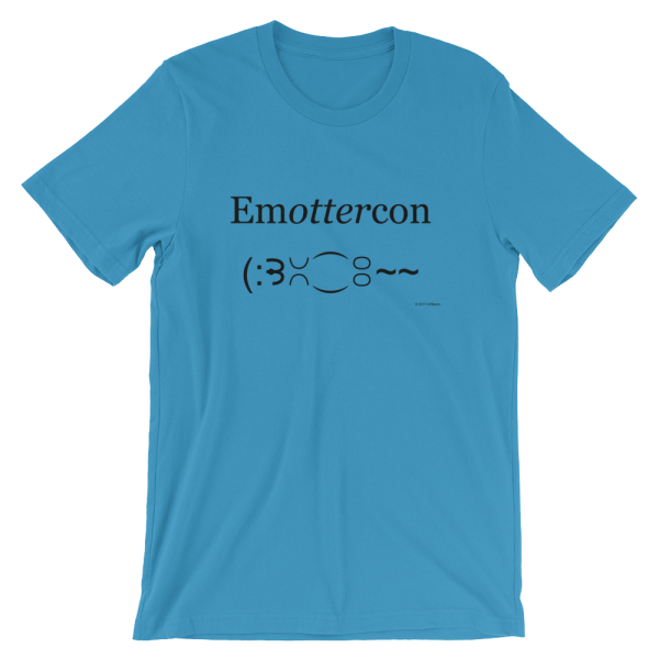 Emottercon Ocean Blue T-shirt