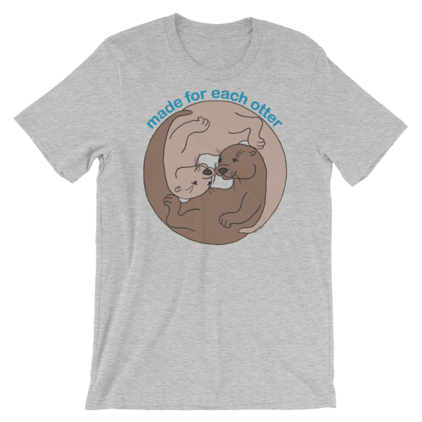 Made for Each Other Heather T-shirt