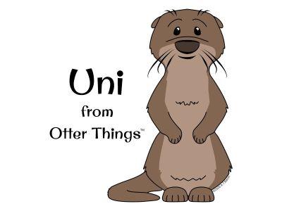 Uni - Otter Things Mascot ©2020