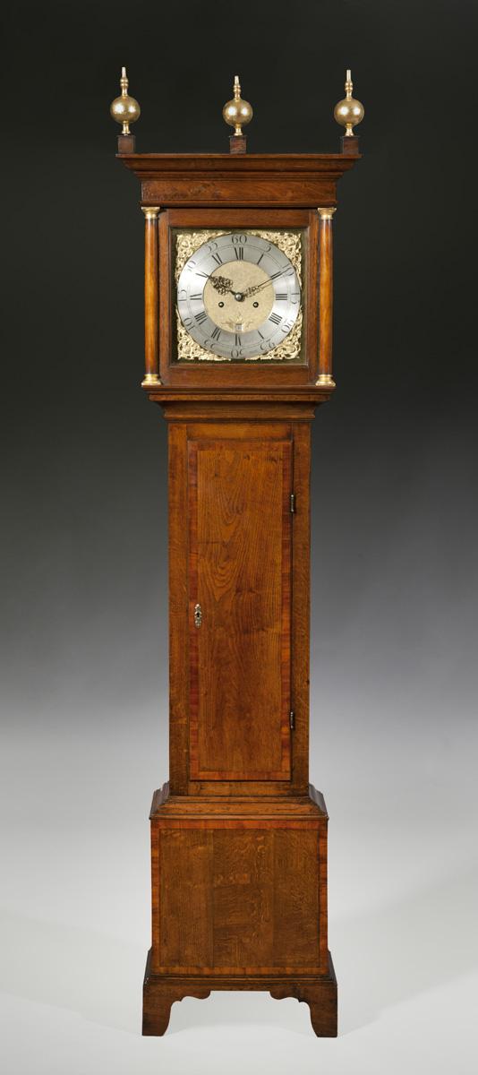 Ottery Antique Furniture  Oak Longcase Clock from