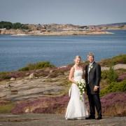 Bröllopsbild Bohuslän västkusten