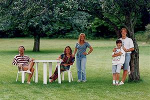 Porträttbild tagen på 90-talet