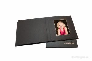 Porträttalbum med barnbilder