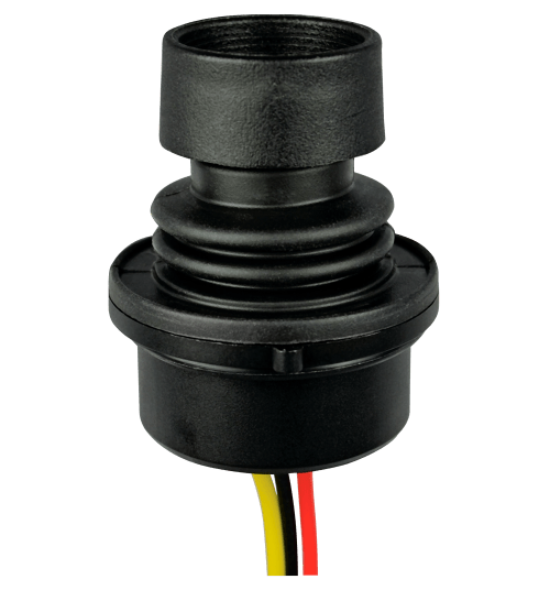 small resolution of htl2 2 way single axis linear hall effect finger joystick
